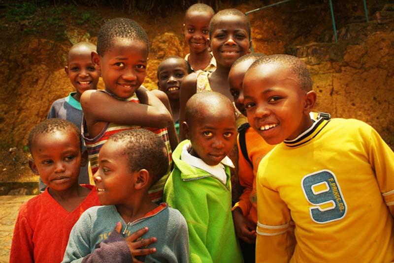 Kinder Kigalis, Ruanda