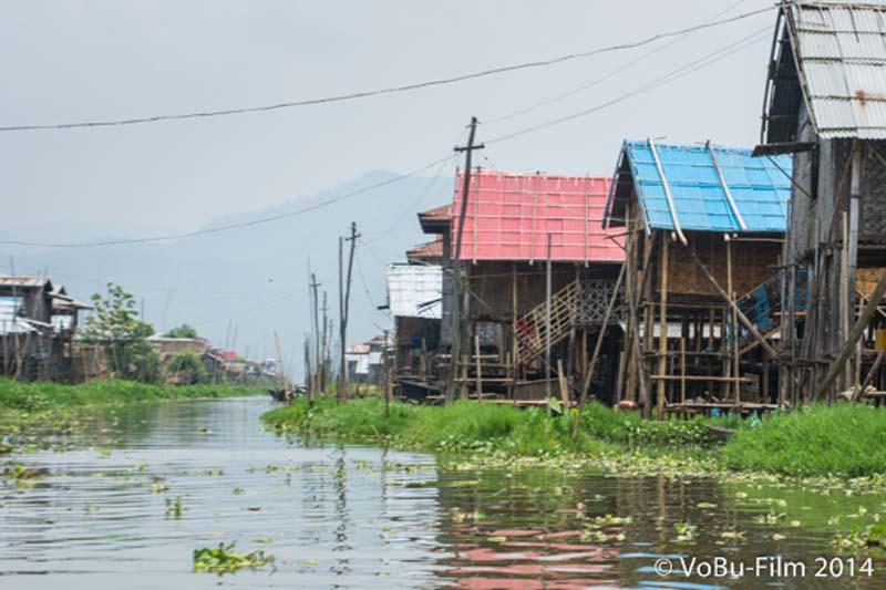Schwimmendes Dorf, Inle Lake, Myanmar