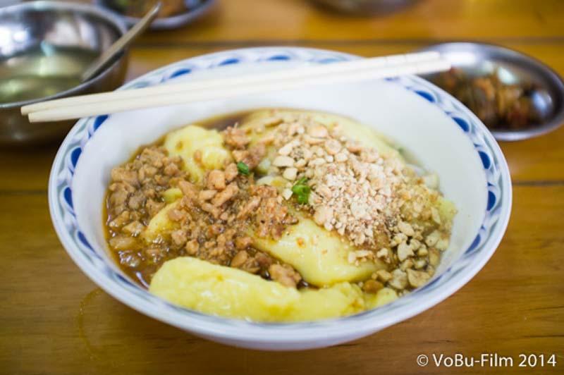Shan Nudeln mit Bohnen Paste, Yangon, Myanmar