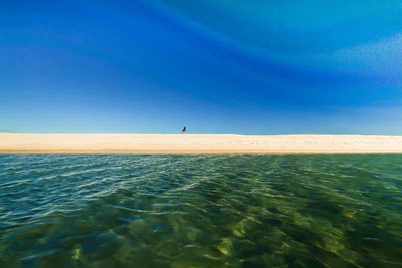Shell Beach, bei Denham, Western Australia