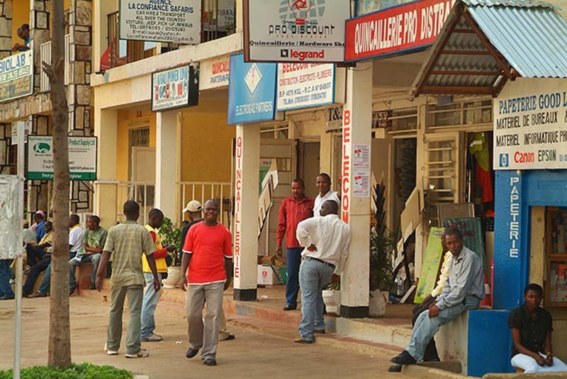 Stadtbild Kigali, Ruanda