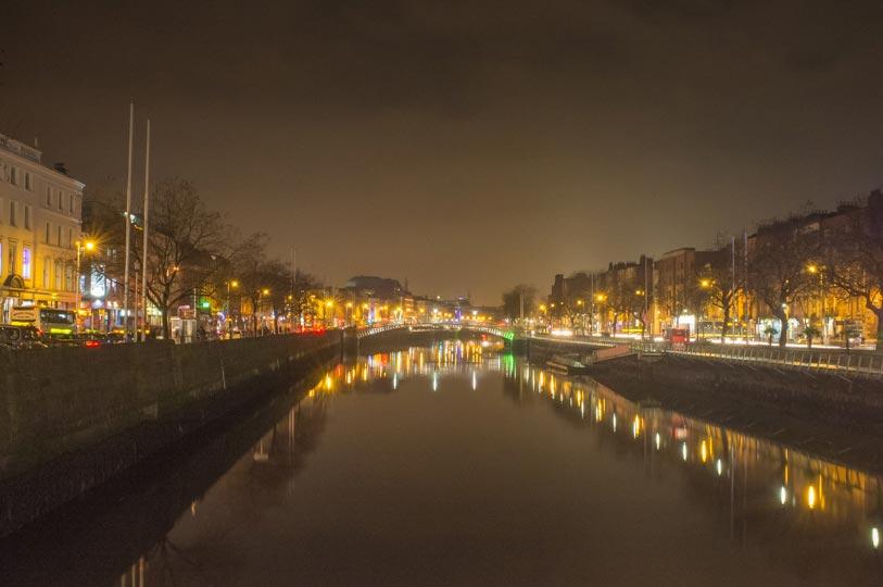 Dublin-am-Abend