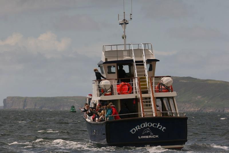 Kilkee-Ausflugsboot