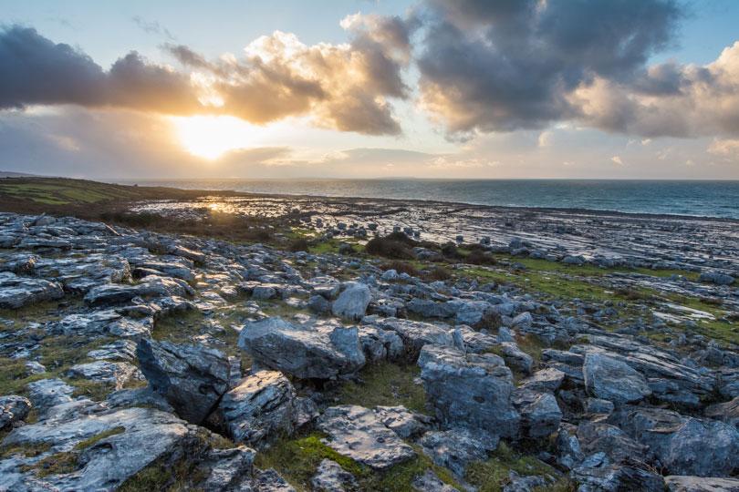 The-Burren-und-Küste